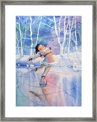 Figure Skater 14 Framed Print