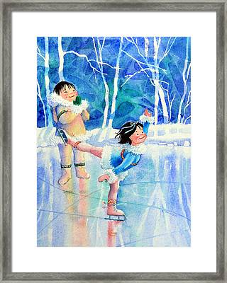 Figure Skater 15 Framed Print