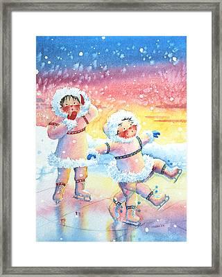 Figure Skater 9 Framed Print