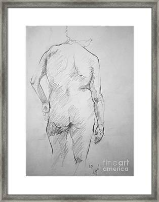Figure Study Framed Print by Rory Sagner