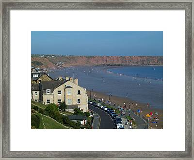 Filey Framed Print