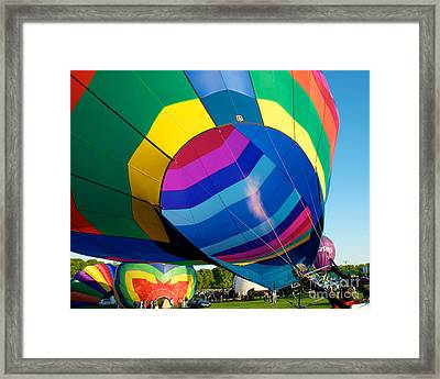 Filler Up Framed Print