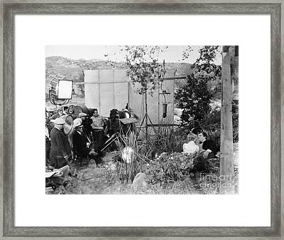 Film: Abraham Lincoln, 1930 Framed Print by Granger