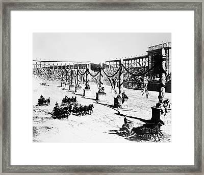 Film Quod Vadis 1912 Framed Print