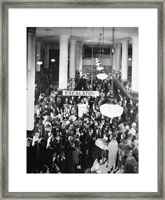 Film Still: Becky, 1927 Framed Print by Granger