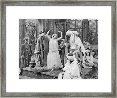Film Still: Harem Framed Print by Granger