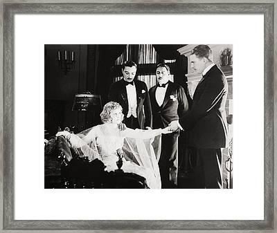 Film Still: Phantom Foe Framed Print