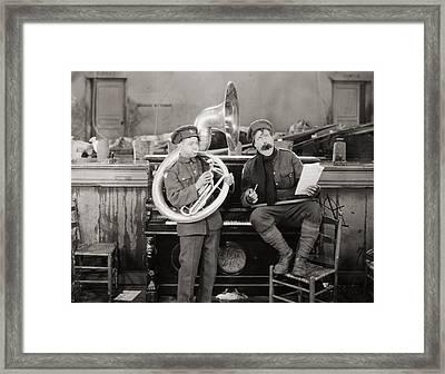 Film: The Better Ole, 1926 Framed Print by Granger