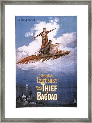 Film: The Thief Of Bagdad: Framed Print by Granger