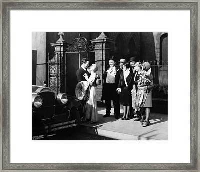 Film: Twin Beds, 1929 Framed Print by Granger