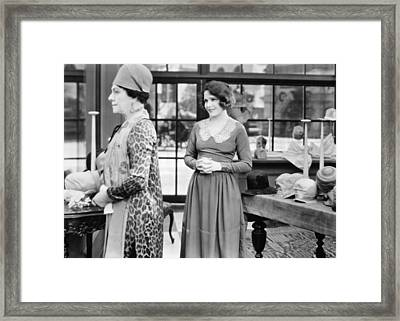 Film: Woman Disputed, 1928 Framed Print by Granger