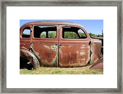 Framed Print featuring the photograph Final Destination by Fran Riley