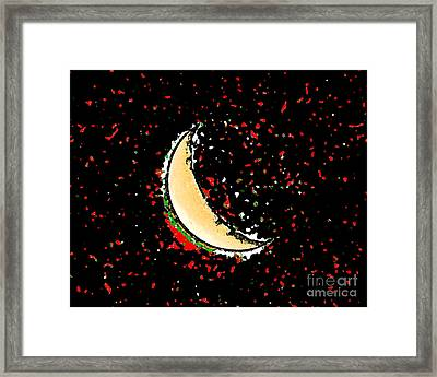 Final Frontier Fiesta Framed Print