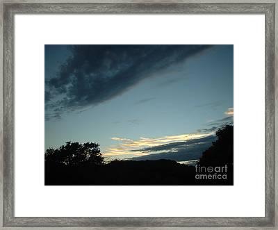Final Glint Framed Print