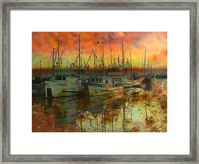 Final Rest Framed Print by Shirley Sirois