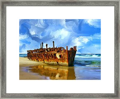 Final Resting Place Framed Print by Dominic Piperata