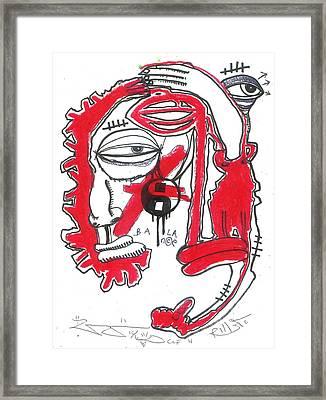 Finding Balance Framed Print by Robert Wolverton Jr