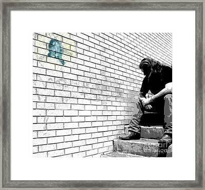 Finding Bottom Framed Print by Joe Jake Pratt