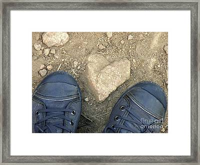 Finding Hearts Framed Print by Lainie Wrightson