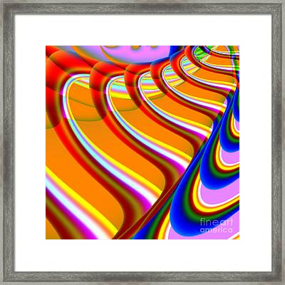 Finding Love . S15 Framed Print by Wingsdomain Art and Photography
