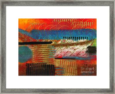 Finding My Way Framed Print