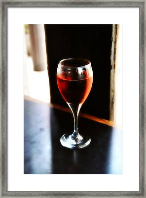 Fine Wine Framed Print by Bill Cannon