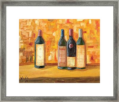 Fine Wine Selection Framed Print by Craig Wade