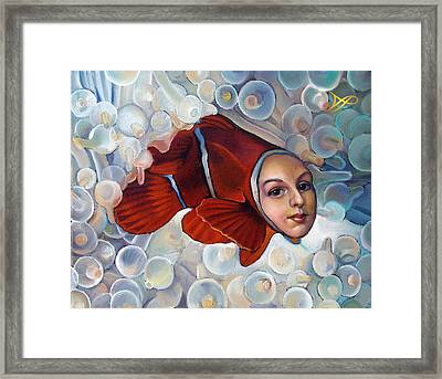Finding Finessa Framed Print by Patrick Anthony Pierson