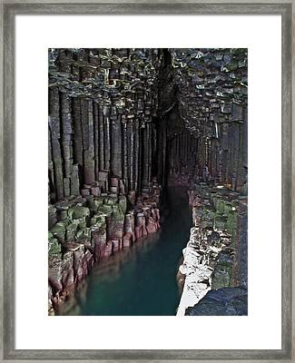 Fingal's Cave Framed Print