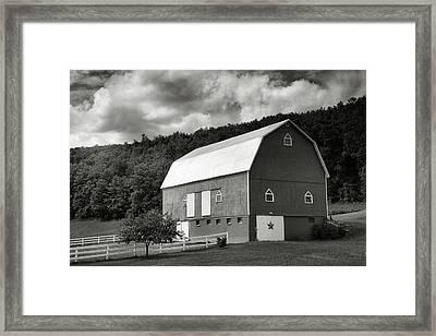 Finger Lakes Barn I Framed Print