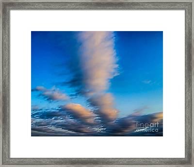 Fingers In Heaven Framed Print by Jeremy Linot