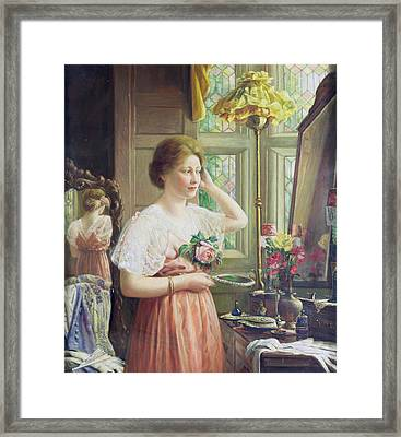 Finishing Touches Framed Print by George Wimpenny