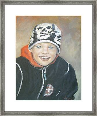 Finnish Boy Commission Framed Print