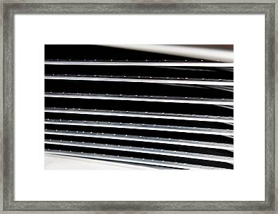 Fins And Blades Framed Print