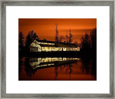 Fintry Packing House Framed Print by Phil Dionne