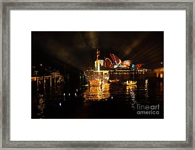 Fire And Water Framed Print by John Buxton