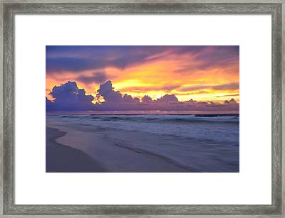 Framed Print featuring the photograph Fire And Water by Renee Hardison