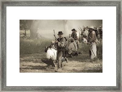 Fire At Will Framed Print by Kim Henderson