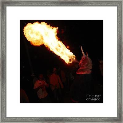 Fire Axe 2 Framed Print by Agusti Pardo Rossello