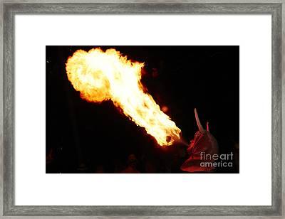Fire Axe Framed Print by Agusti Pardo Rossello