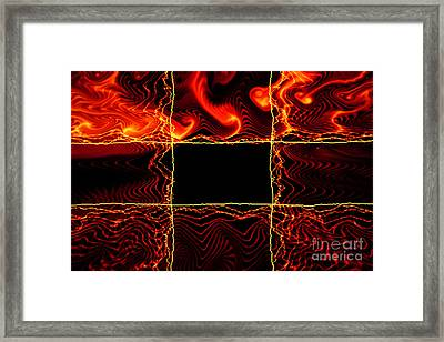 Fire Box Framed Print by Tashia Peterman