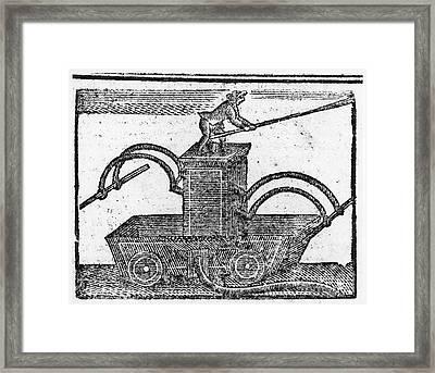 Fire Engine, 1769 Framed Print by Granger