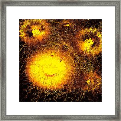 Fire Explosions Framed Print by Hans Engbers