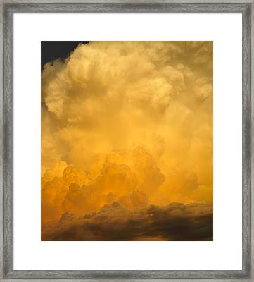 Fire In The Sky Fsp Framed Print