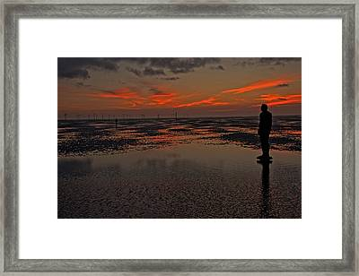 Fire In The Sky Framed Print by Paul Scoullar