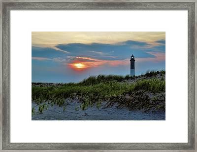Fire Island Sunset Framed Print by Rick Berk