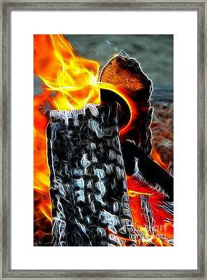 Fire Magic Framed Print