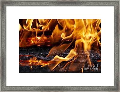 Fire Framed Print