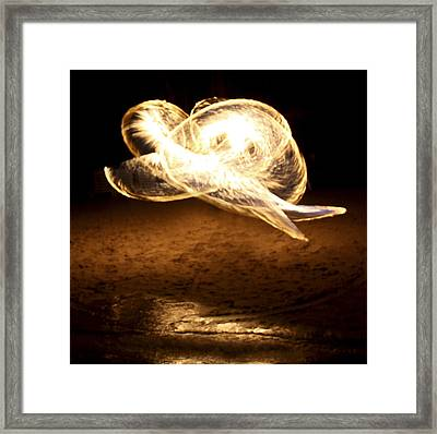 Framed Print featuring the photograph Fire by Nick Mares