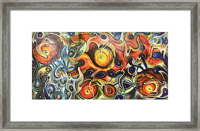 Fire Of My Soul Framed Print